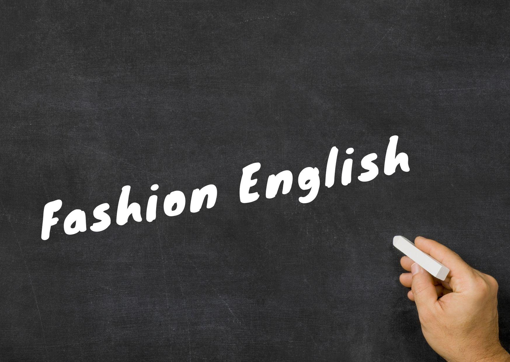 aprender ingles moda