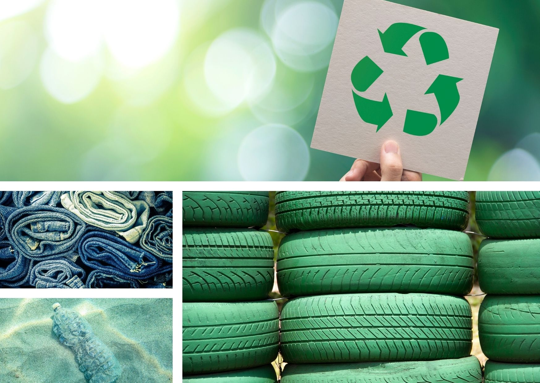 Moda con material reciclado