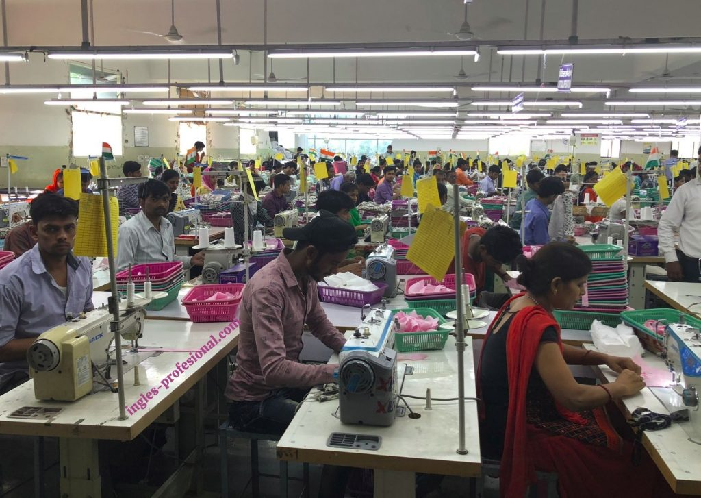 fabrica de ropa en india