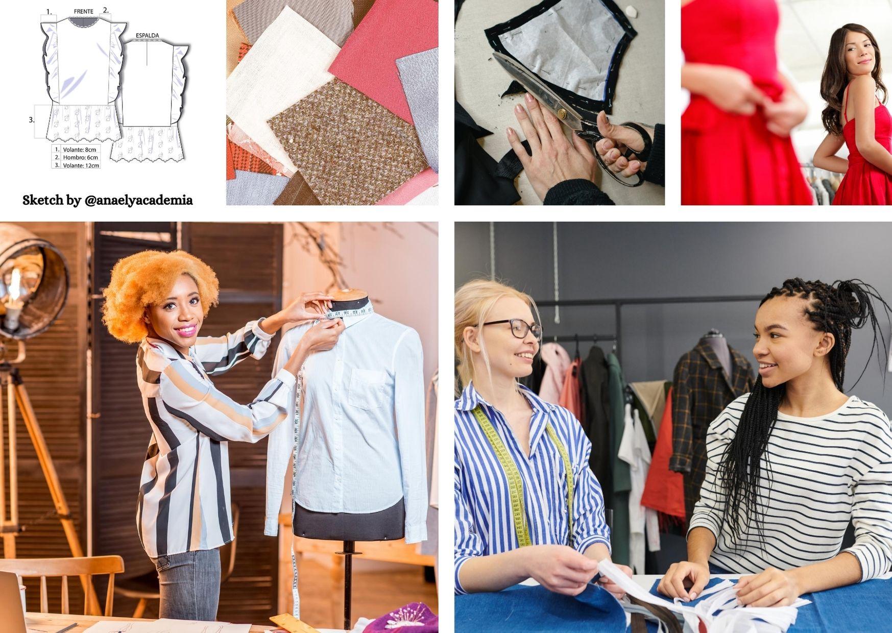 Proceso del diseño de moda
