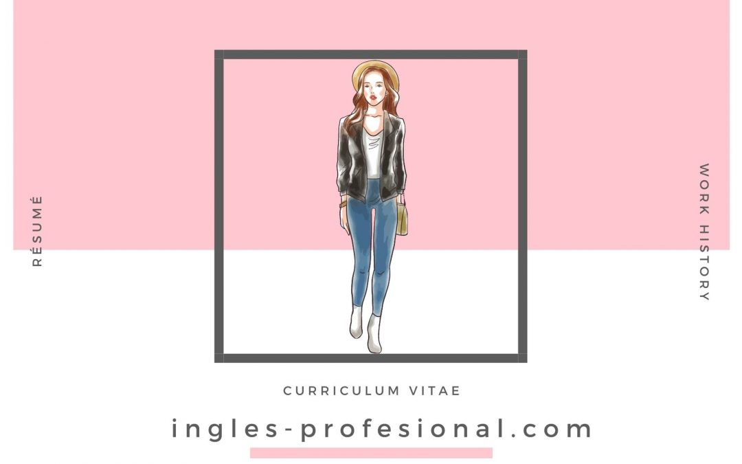 Currículum de diseñadora de moda