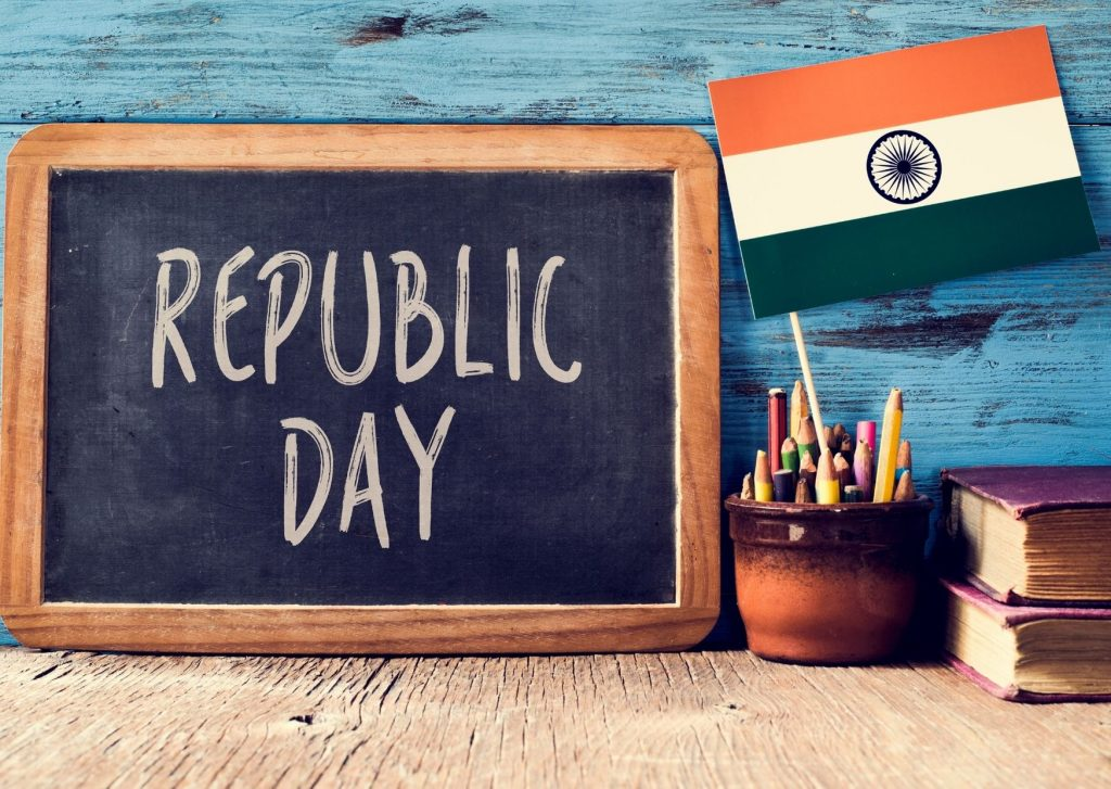 I wish you a very happy Republic Day! / principales fiestas de la india