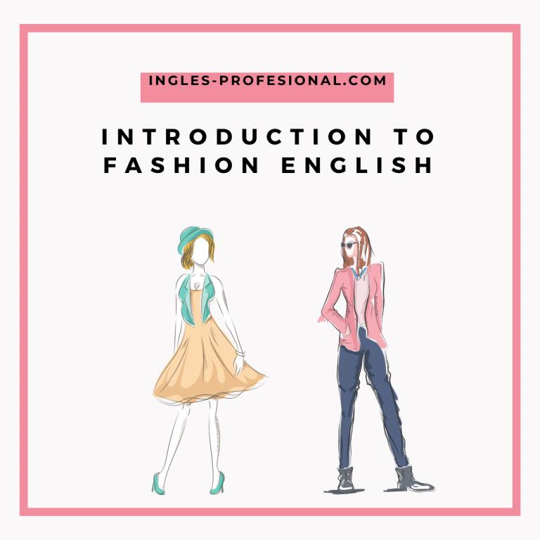 fashion english